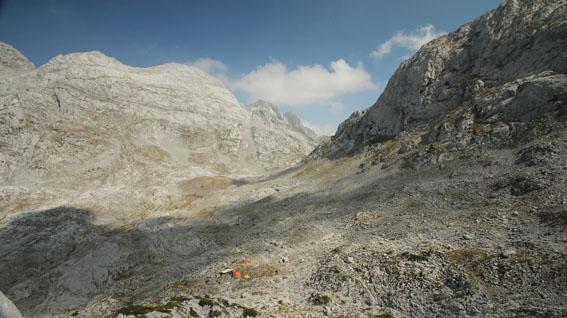 базов лагер на експедиция Радоина